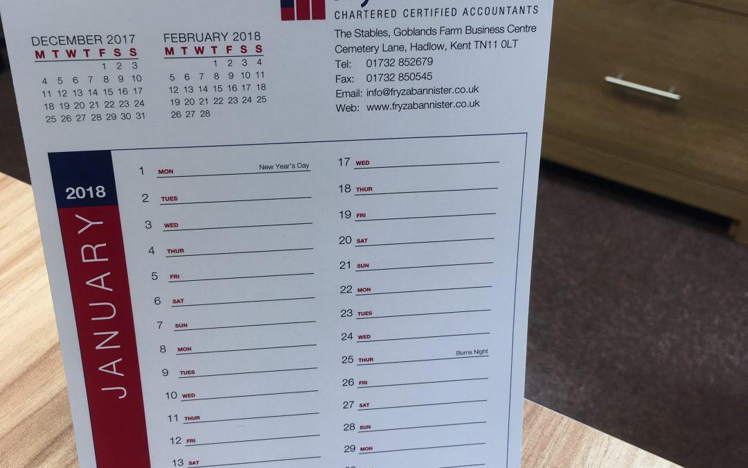 Company Calendars
